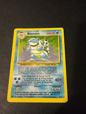 Blastoise perfect gem nm.. Pokemon cards for Sale in Chicago, IL