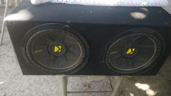 Speakers kicker c incredible sound