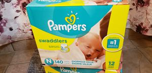 Newborn Pamper Diapers for Sale in Dallas, TX