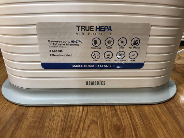 Homedics TRUE HEPA Air Purifier/Filter