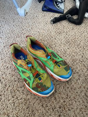 Hoka One trail running shoes size 11 for Sale in Fresno, CA