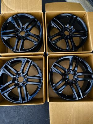 18x8 Black Rims for Sale in Lewis Center, OH