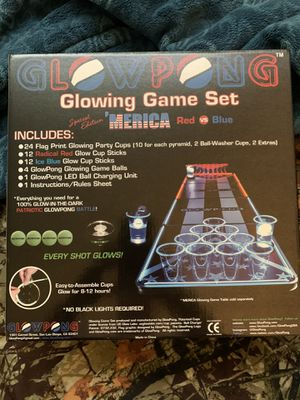 GlowPong Cup Set for Sale in Fresno, CA