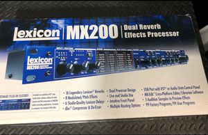 Lexicon MX200 effects rack for Sale in Mooresville, NC