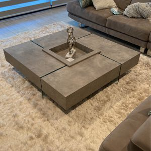Faux Concrete Coffee Table for Sale in Los Angeles, CA