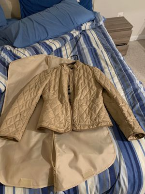 Authentic women's Burberry jacket size Small petite in excellent condition for Sale in Columbus, OH