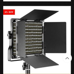Neewer Photo Led Light Panel ( 1 In Stock Nw) Front Display for Sale in Phoenix, AZ