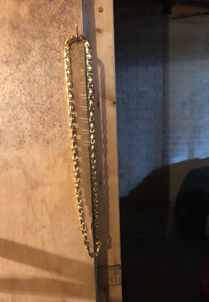Gold chain thats turns into Bracelet for Sale in Columbus, OH