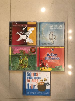 Kids Music CD, all for $5 for Sale in Rowland Heights, CA