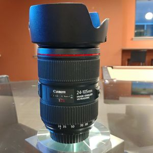 Canon EOS EF 24-105mm F/4 L IS II USM Zoom Lens - Excellent CONDITION for Sale in Shoreline, WA