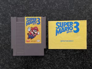 Super Mario Bros. 3 (Nintendo Entertainment System) for Sale in Las Vegas, NV