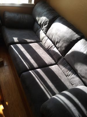Couch/bed futon 250 matress inside is brand new for Sale in Castro Valley, CA