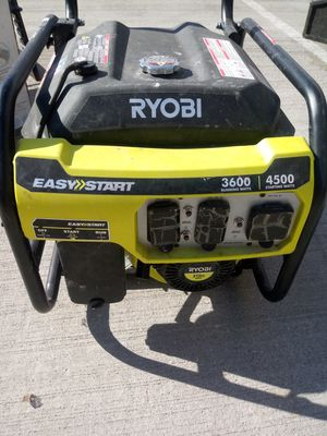 Ryobi Easy Start Generator for Sale in Sterling, VA