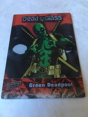 2019 Deadpool Dead Glass Chase Card #DG6 for Sale in Gardena, CA