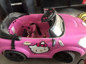Hello Kitty 6v NEEDS BATTERY for Sale in Winter Garden, FL