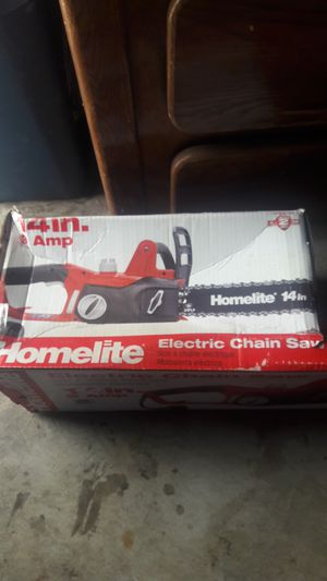 14 inch electric chainsaw for Sale in San Jose, CA