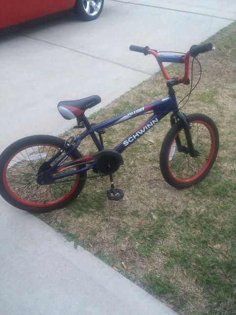 Bike Kids Schwinn Falcon 20 Bike - Blue Red, Blue And Red for Sale in Katy,  TX - OfferUp