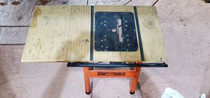 ROUTER SAW TABLE WITH SHUT OFF BAR for Sale in Chula Vista, CA