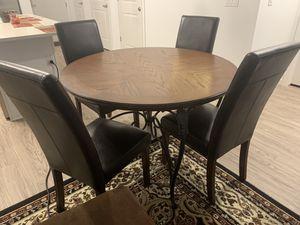 Wood dining table set for Sale in Denver, CO