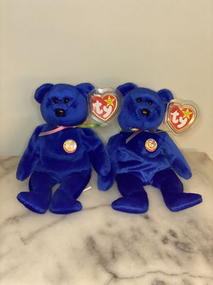 TY Original Beanie Babies Clubby x2 for Sale in San Leandro, CA