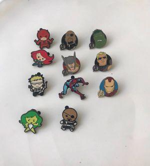 Marvel avengers spider man Disney pins for Sale in New Port Richey, FL