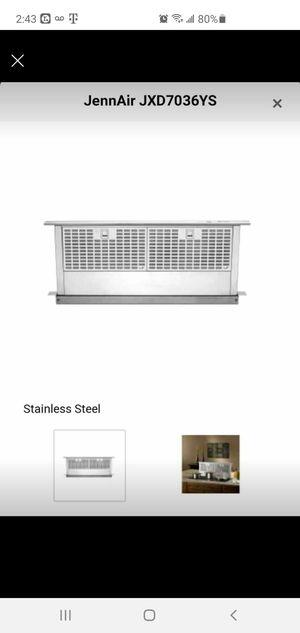 JennAir downdraft kitchen appliance JXD7036YS for Sale in Vienna, VA