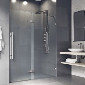 Frameless shower door - Reversible swing for Sale in Seattle, WA