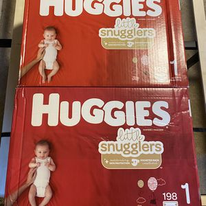 2 198 Count Size 1 Huggies for Sale in Fort Washington, MD
