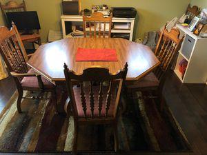 Dinning Room Set - Beautiful Solid Wood set for Sale in Nolensville, TN