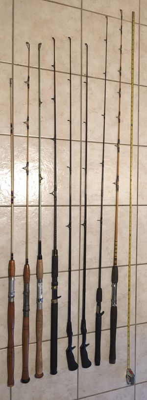 Fishing Rod Bundle- Great Deal!! for Sale in Boynton Beach, FL