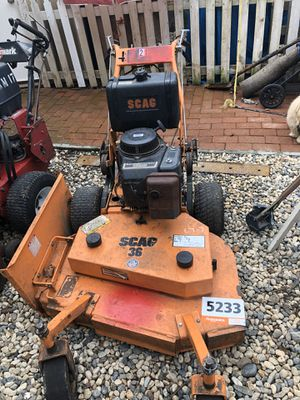 Scag lawn mower for Sale in Gilroy, CA