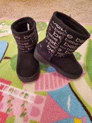 Size 7 girls boots. Toddler. From Bebe for Sale in West Palm Beach, FL
