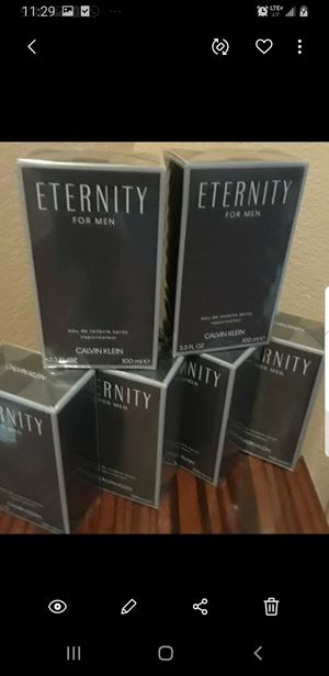 ETERNITY 6.7 onzas 200mlig perfumes grandes doble tamaňo originales for Sale in El Monte, CA