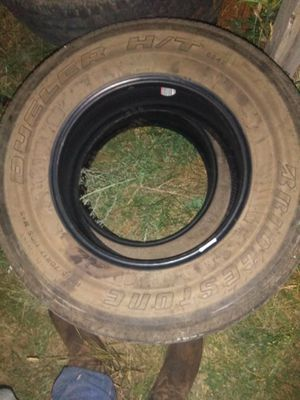 2 like new Bridgestone p255/70r17 _2 Firestone lt275/70r18 _ 2 Goodyear p275/60r20 for Sale in Dickinson, ND