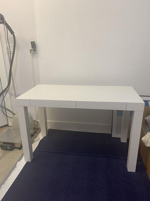West Elm Parsons Desk - 2 Drawer