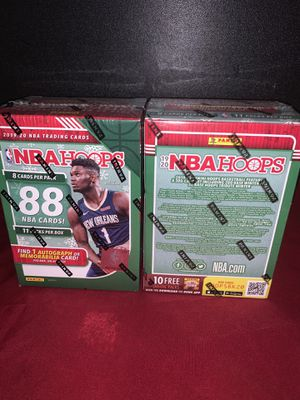 Panini 2019-20 NBA Hoops Holiday Blaster Box Sealed(One) for Sale in Buena Park, CA