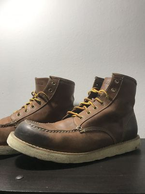 Eastland Lumber Up Men's size 12 Handcrafted Classic Leather Moc Toe Work Boots for Sale in St. Petersburg, FL