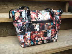 Fashion Magazine Cover Glossy Vinyl Bag - 16 x 10 for Sale in Chicago, IL
