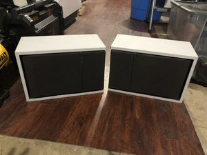 Bose Bookshelf 201 Series III Speakers w/ Bluetooth receiver for Sale in Pittsburgh, PA