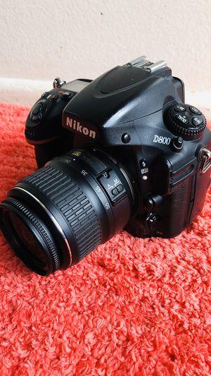 Nikon D800 Digital SLR Camera with 18-55mm lens for Sale in Garden Grove, CA