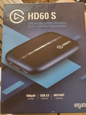Elgato HD60S for Sale in Martinsville, IN