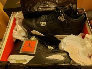 Air Jordan Retro 4 OREO Size 8.5 Authentic New for Sale in Downers Grove, IL