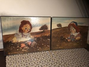 Vintage Raggety Ann and Andy Pictures for Sale in Centreville, VA