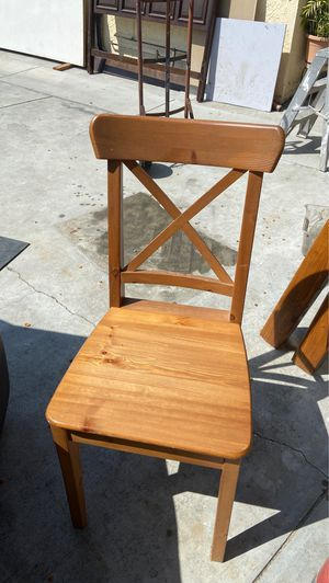 Wooden chair for Sale in Los Nietos, CA