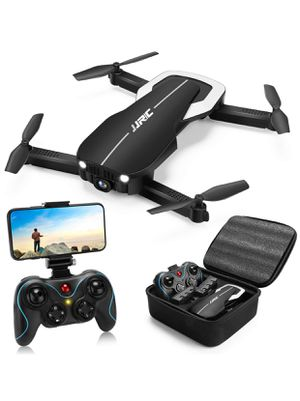 Drones with 1080P HD Camera Optical Flow Positioning, FPV WiFi Live Video Quadcopter for Adults,22mins Long Flight Time with 2 Batteries(Black) for Sale in Rancho Cucamonga, CA