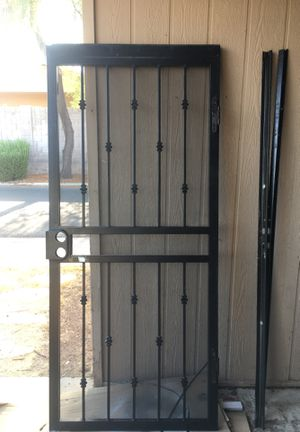 Security door with frame no flaws for Sale in Phoenix, AZ
