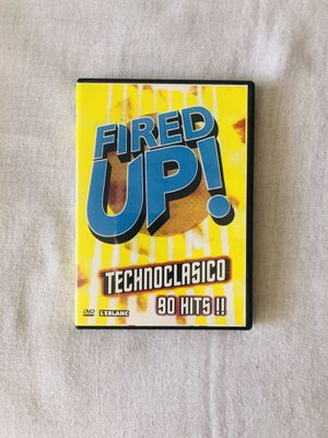 Rare DVD! Brand New, Sealed Fired Up Technoclasico Music DVD for Sale in El Cajon, CA