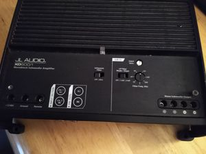 JL Audio XD600/1v2 600W XDv2 Series Subwoofer Amp for Sale in Phoenix, AZ
