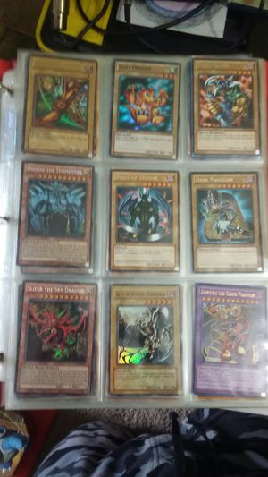 card collection pokemon,yugioh for Sale in Burlington, NJ
