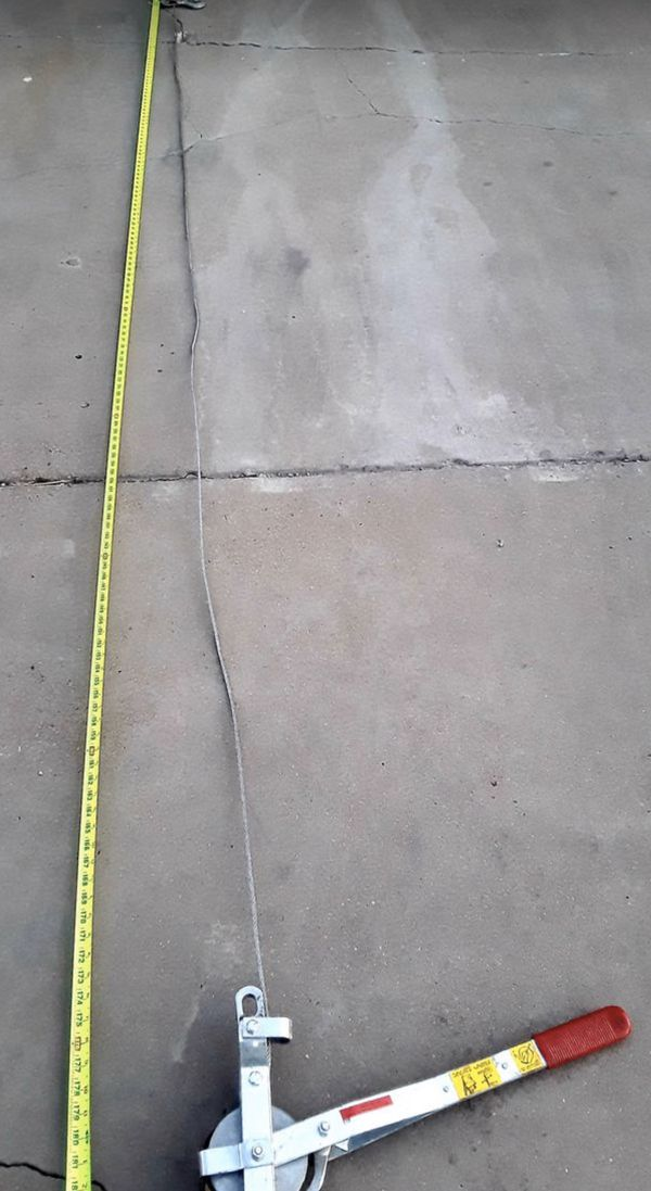 "15ft Beebe Ratcheting Puller ""Come-A-Long"""